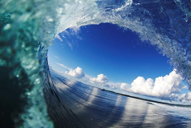 Telescopes Tunnel of love. – Photo Dunbar c/o TPW