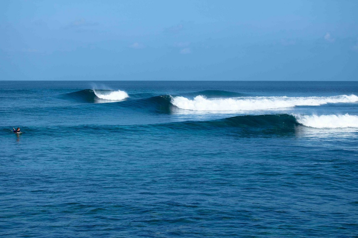 Glassy dream lineup at Riptides