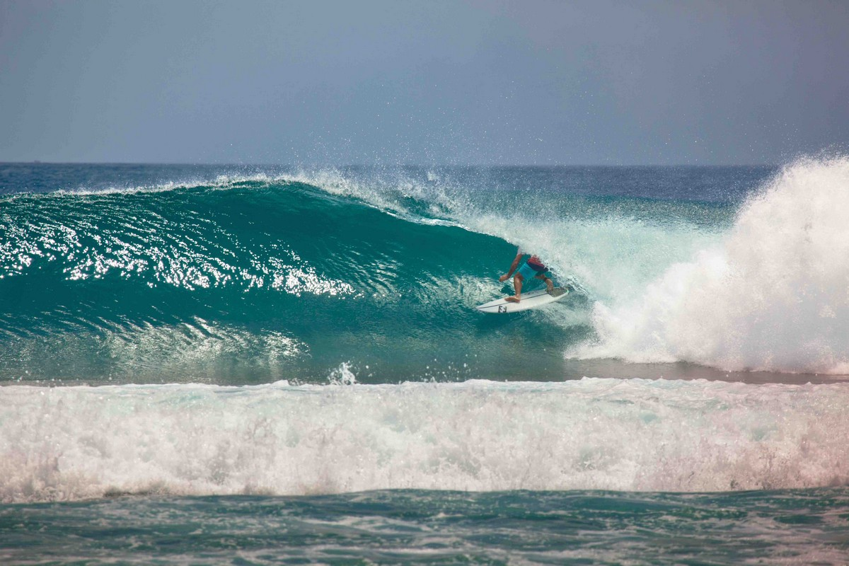 Sean slotted at Kandooma. Wow!