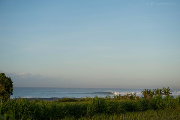 Lesser known East Coast Bali line up. – Photo sproutdaily.com
