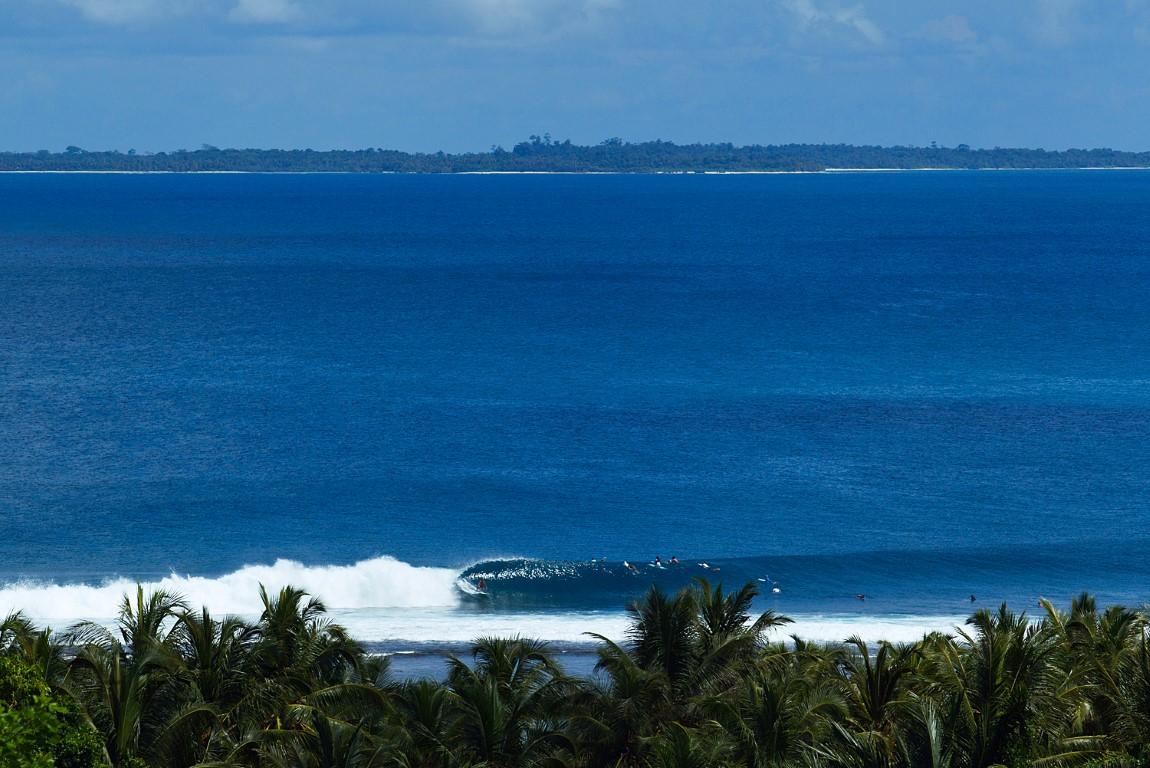 Mentawai setups like this make the decision to go easy. – Shield.
