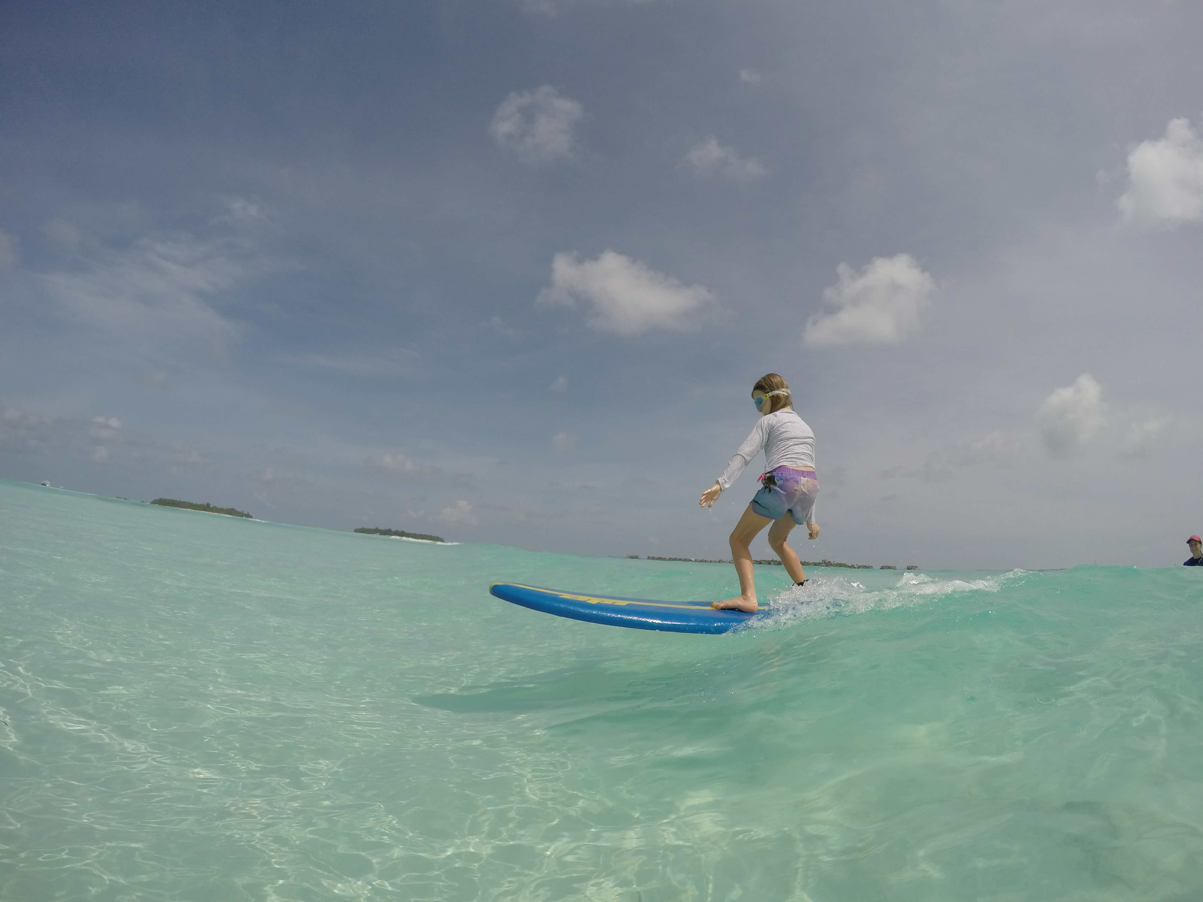 The learn to surf sandbar