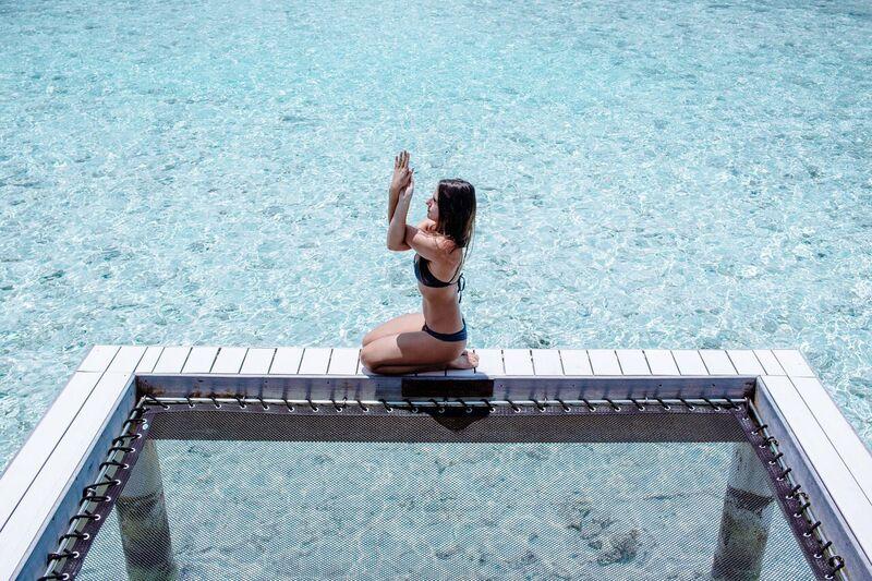 Claudia's morning yoga