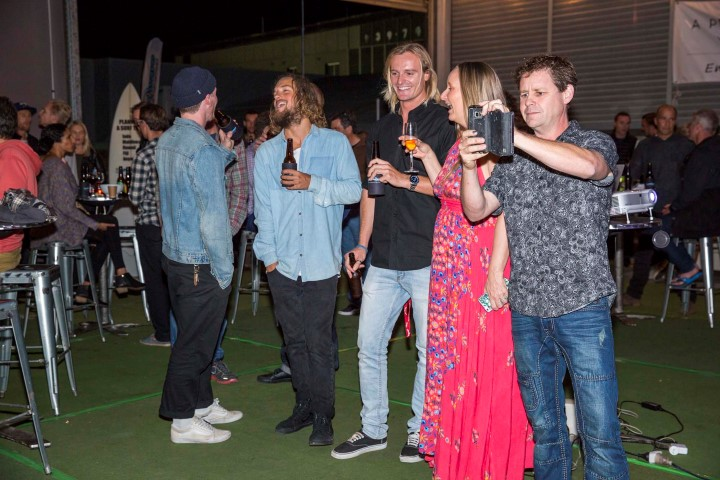 Jamie, Rhonda and crew. – Photo Christie.