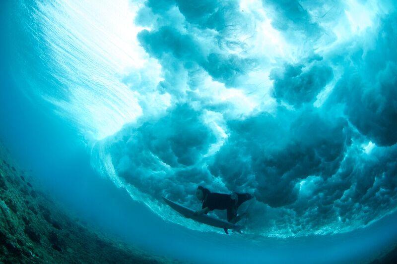 Coppo duckdiving. Photo Kotch.