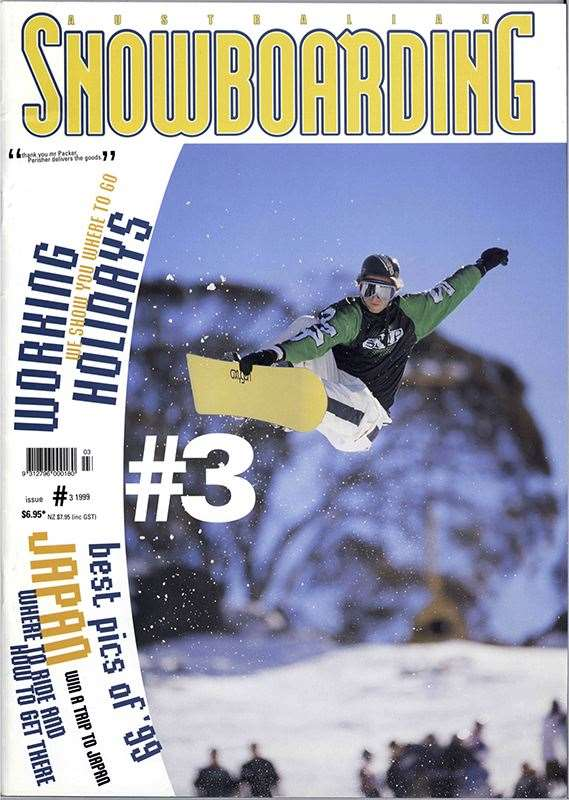 Coppo was a legit snowboarding cover star in the 90's. Photo Baccon.