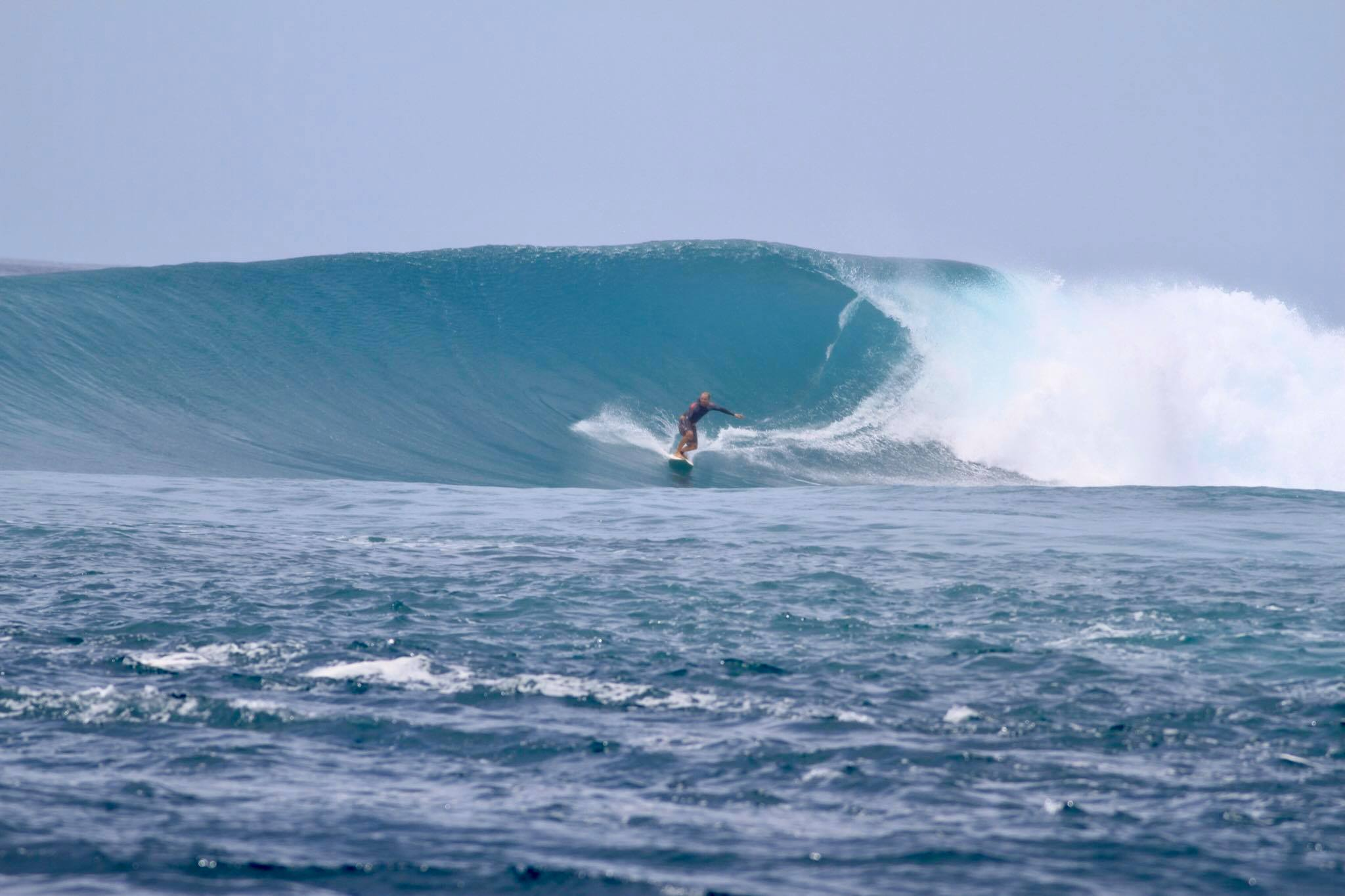 The end bowl at Kandooma on August 22.