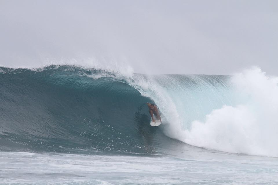 Troy Cokes Surf Camp manager on August 20