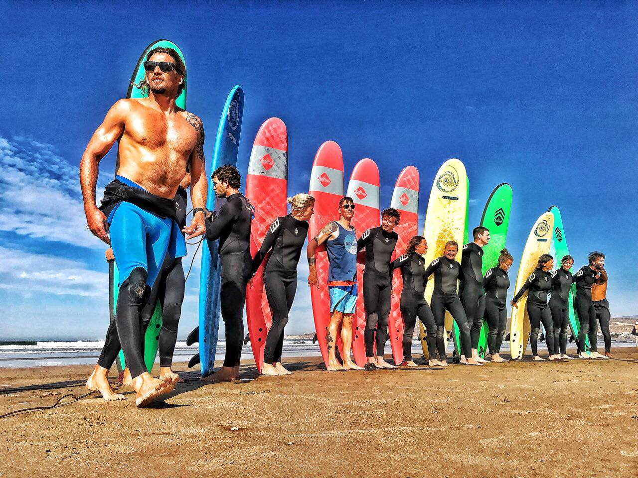 robinson beach club morocco