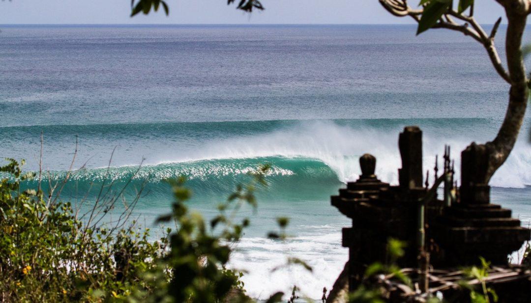 surfing at S-Resorts Bali