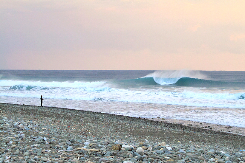 Uncrowded, good to epic surf!