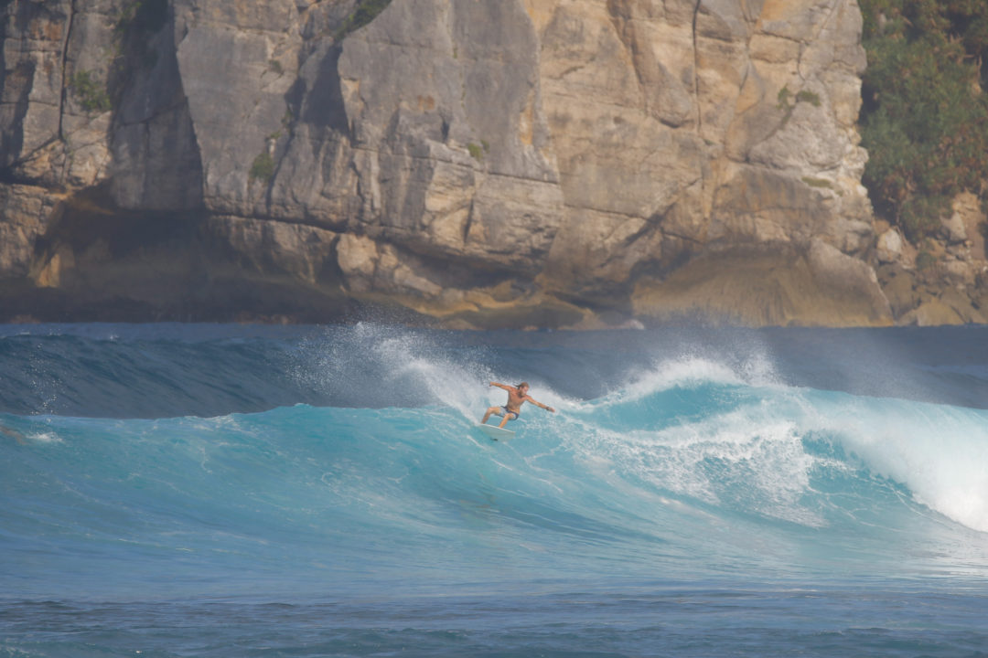 surfing at Baha Baha Villas Sumbawa