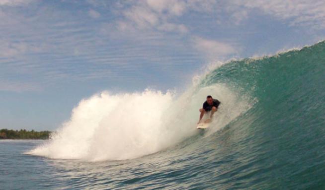 krui left surf break